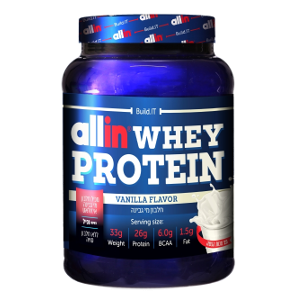 אבקת חלבון אול אין | All In WHEY PROTEIN | וניל
