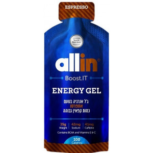 12 ג'ל אנרגיה | Allin | Energy Gel