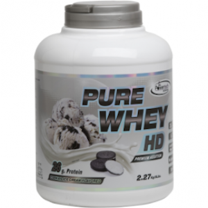 אבקת חלבון פיור | pure whey HD | קרם עוגיות