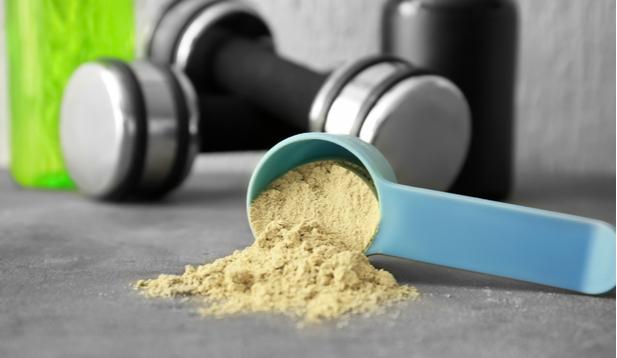 אבקת חלבון ללא גלוטן